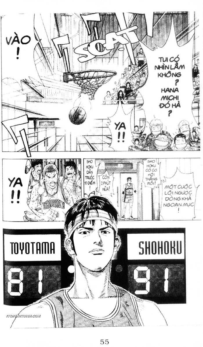 Slam Dunk chap 213 trang 21