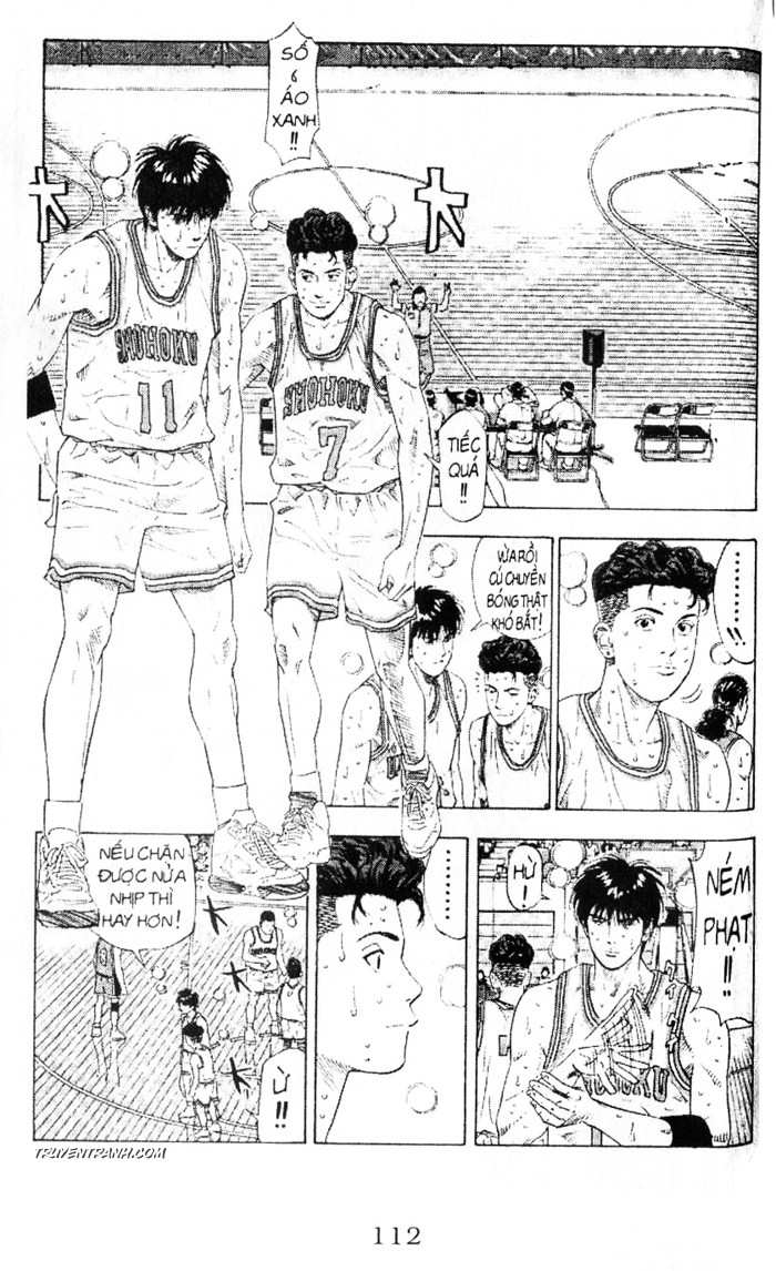 Slam Dunk chap 209 trang 7