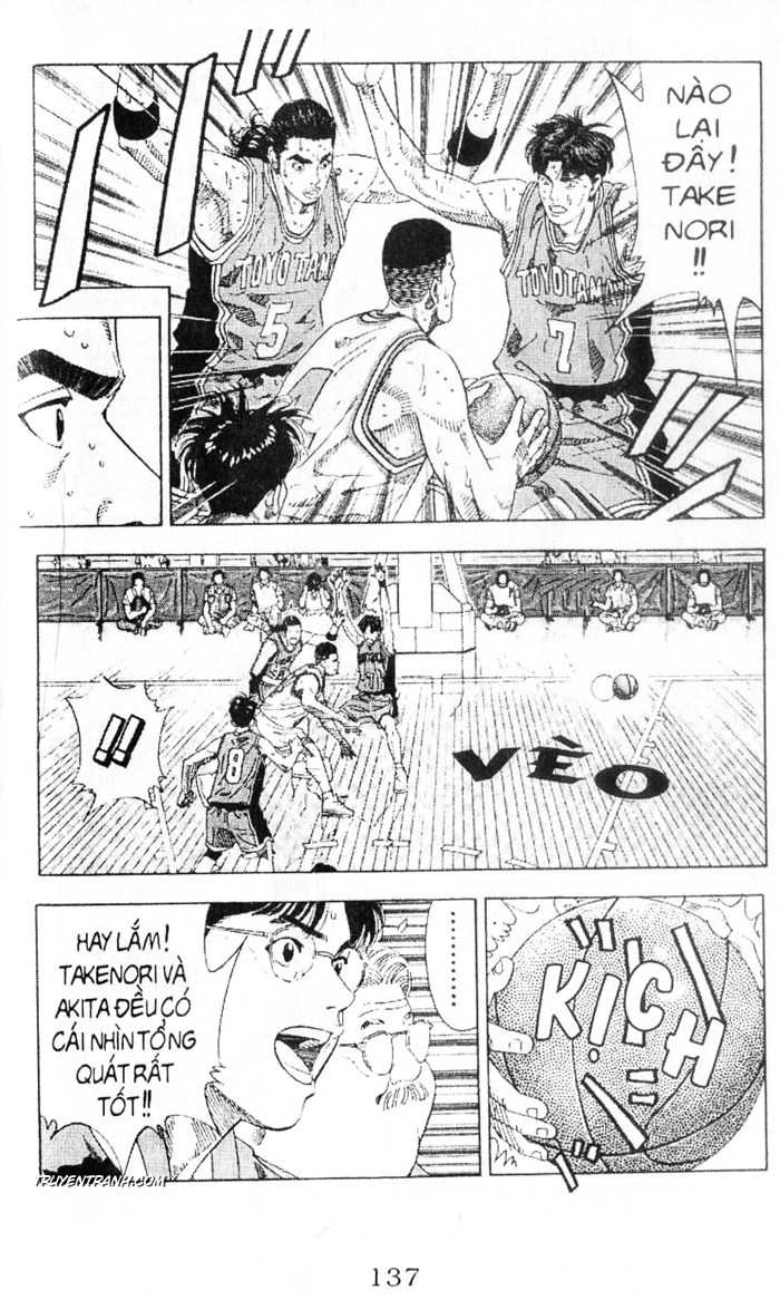 Slam Dunk chap 210 trang 12