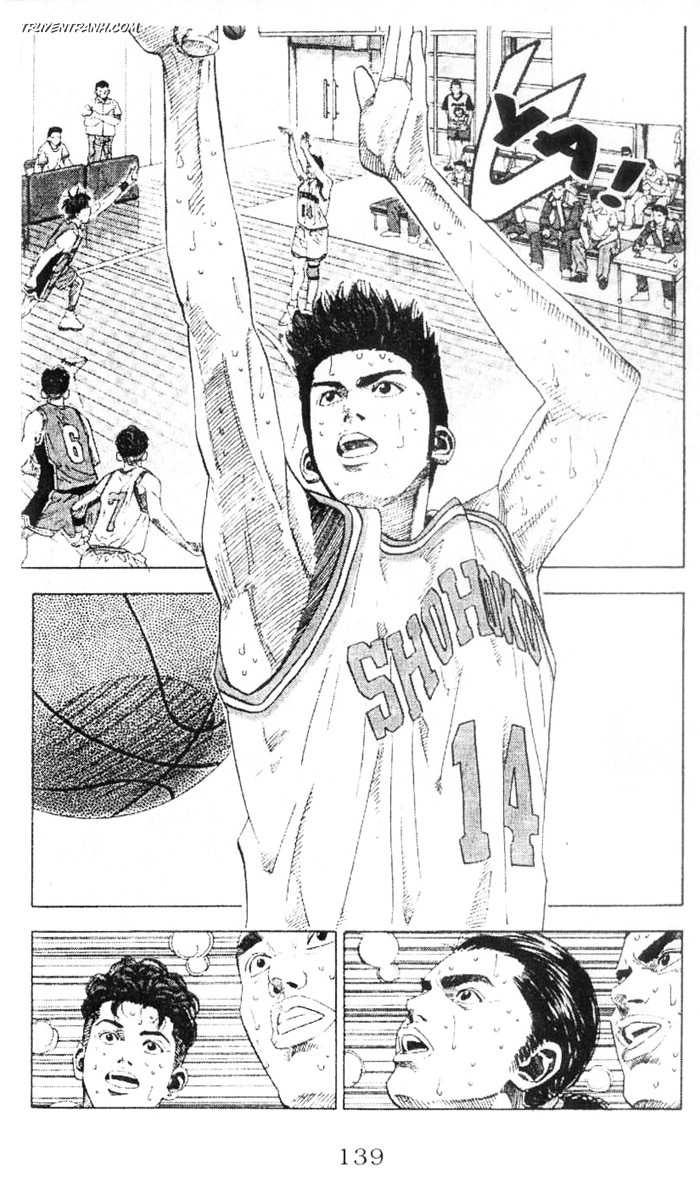 Slam Dunk chap 210 trang 14
