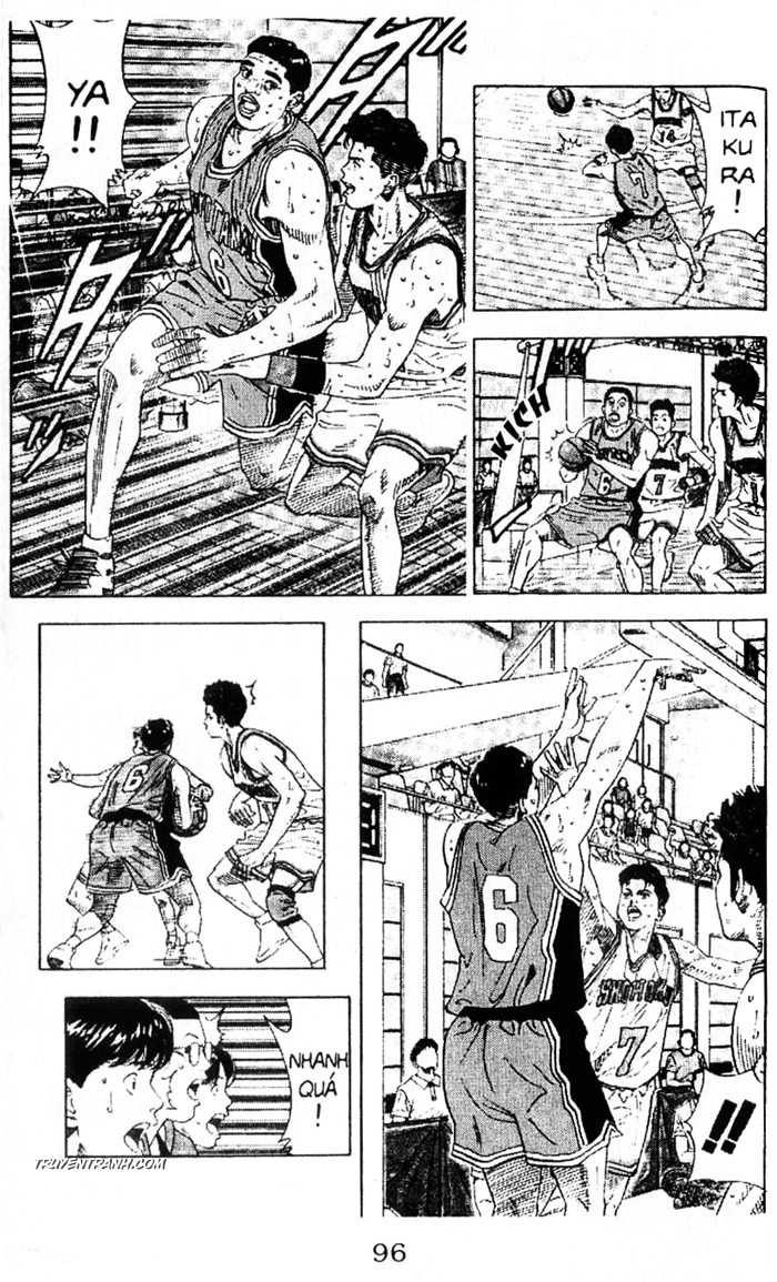 Slam Dunk chap 208 trang 9