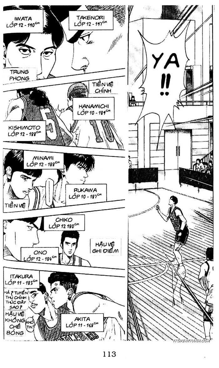 Slam Dunk chap 201 trang 11
