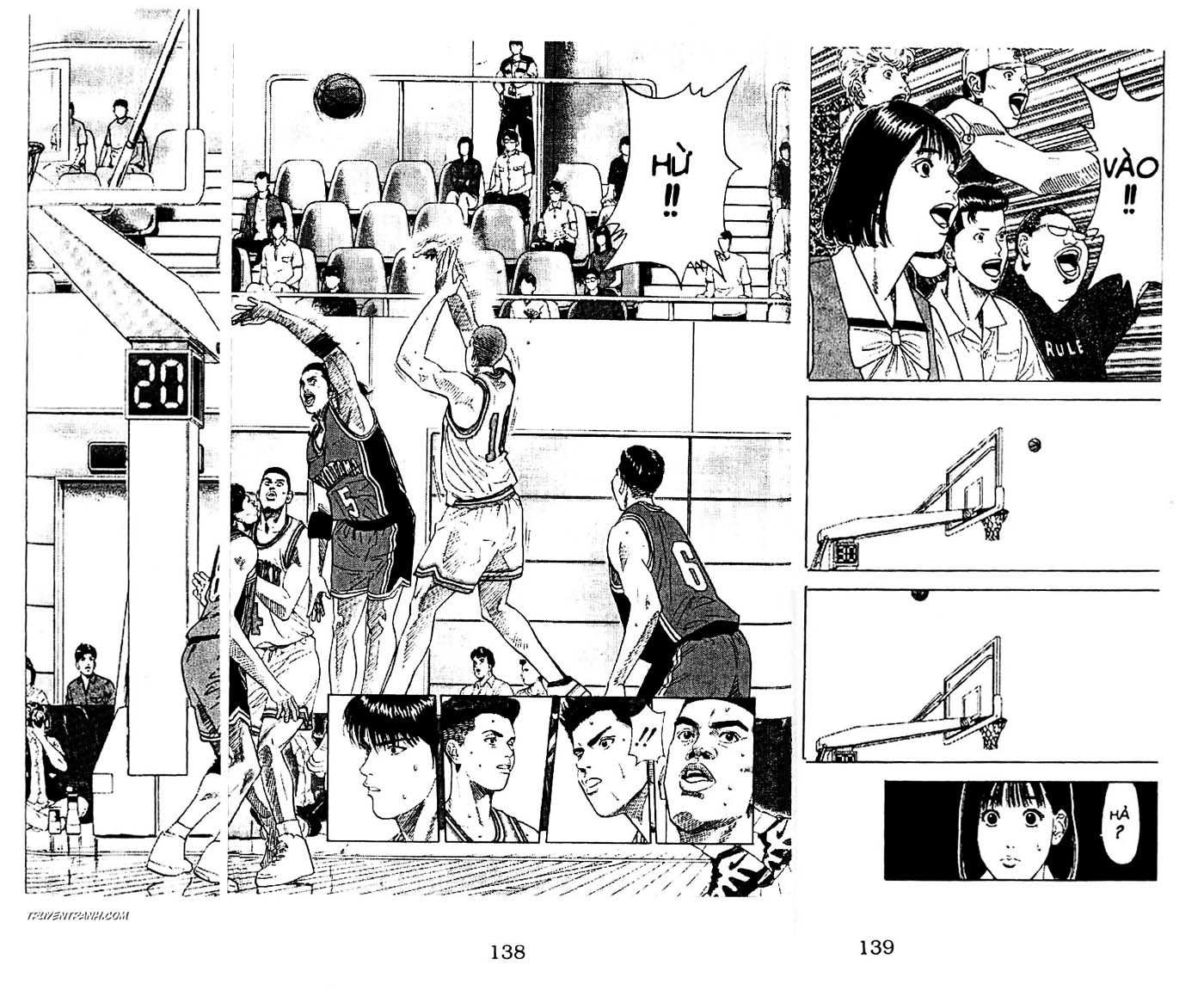 Slam Dunk chap 202 trang 16