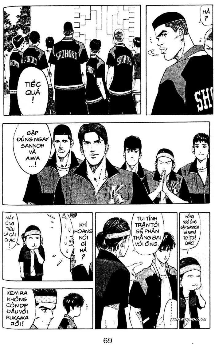Slam Dunk chap 198 trang 4