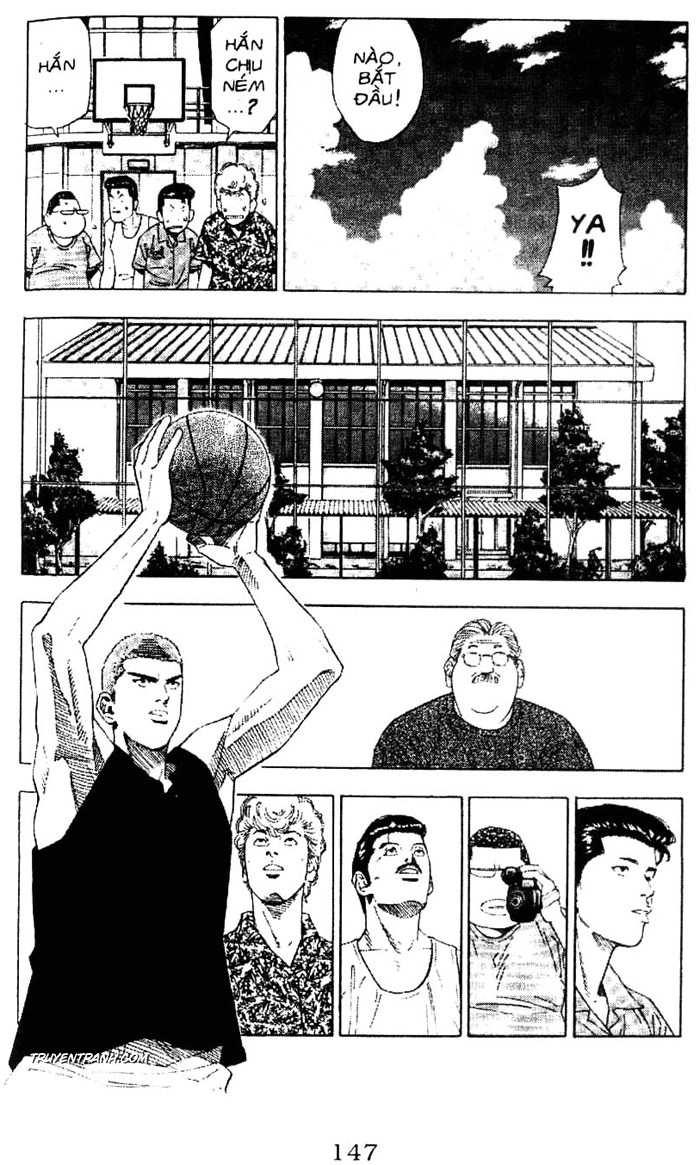 Slam Dunk chap 195 trang 10
