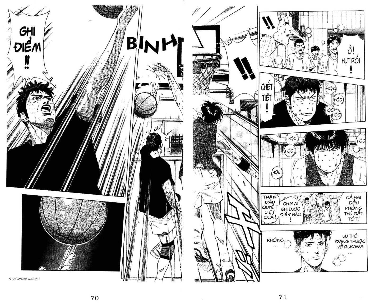 Slam Dunk chap 191 trang 13