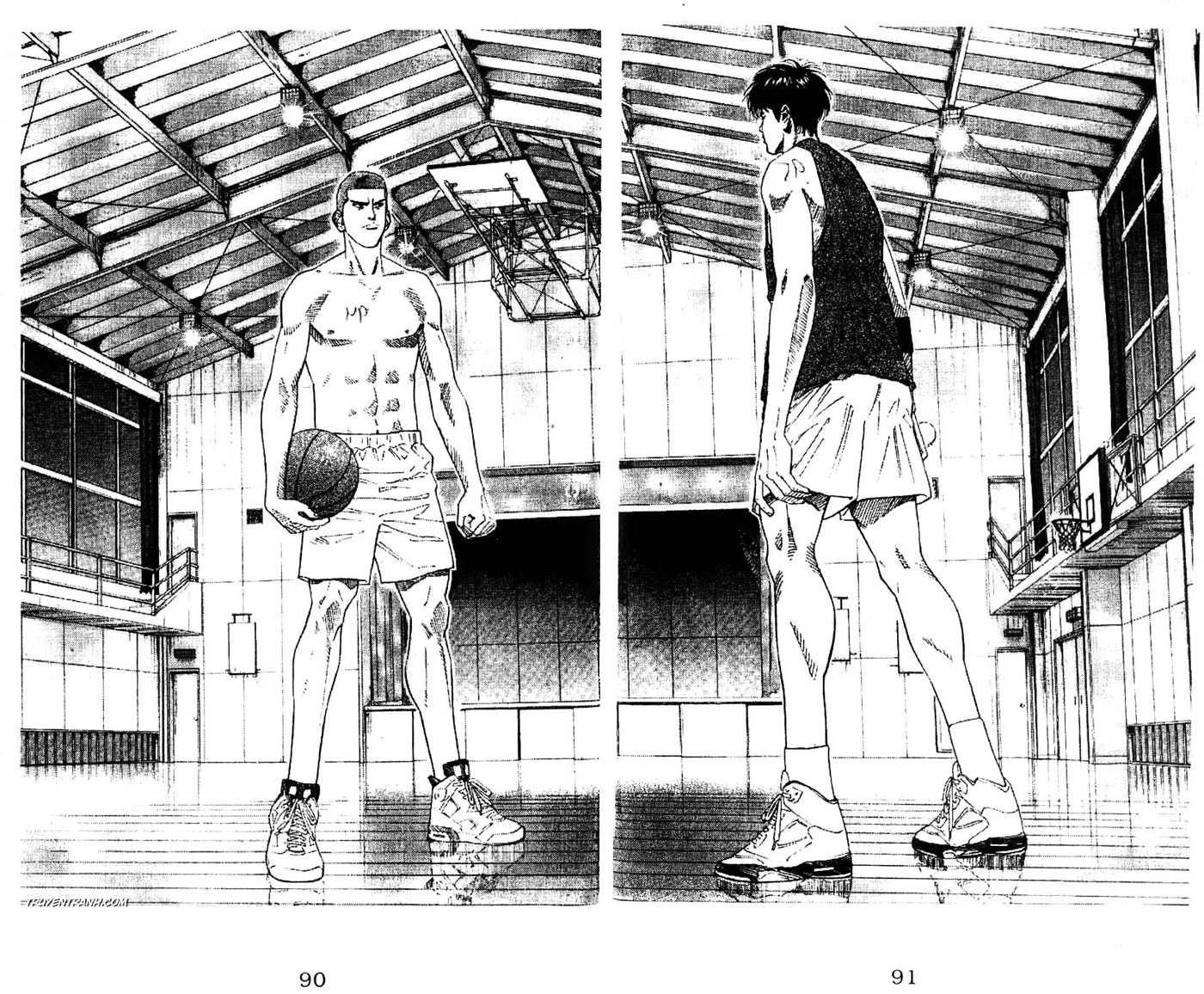 Slam Dunk chap 192 trang 13