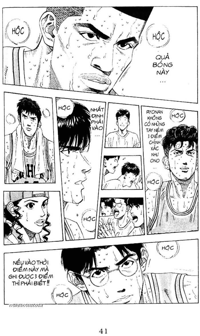 Slam Dunk chap 182 trang 9