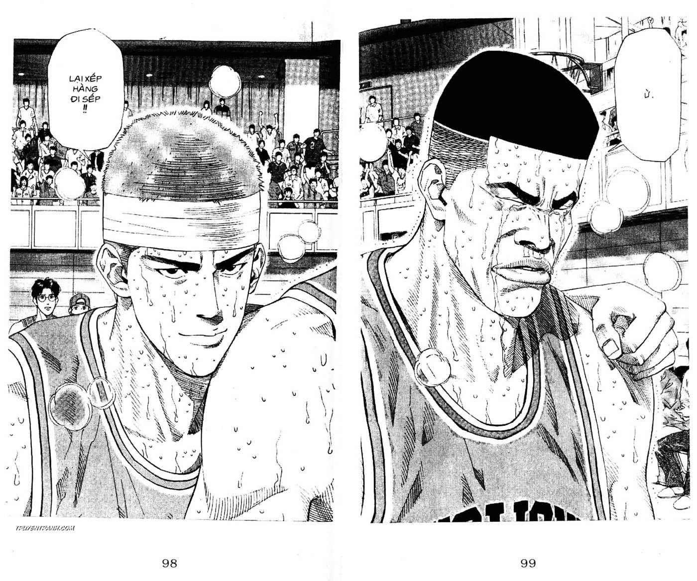Slam Dunk chap 185 trang 7