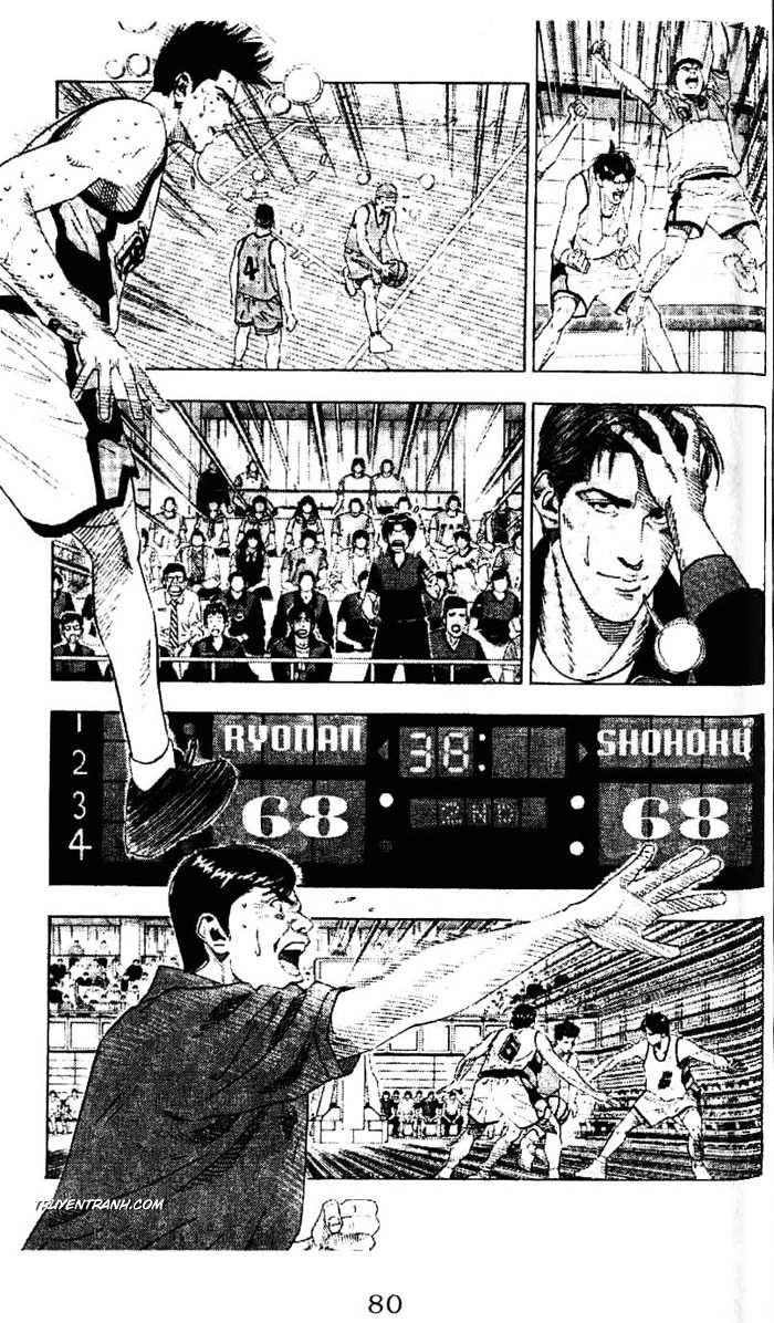 Slam Dunk chap 184 trang 9