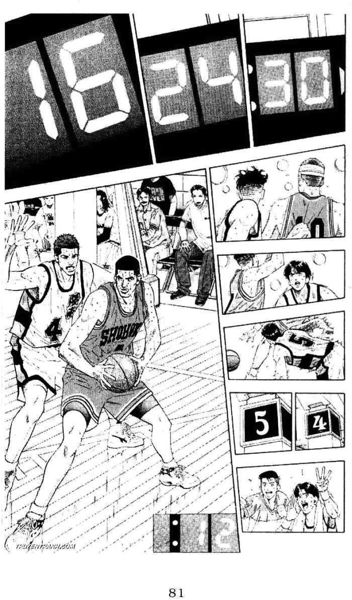 Slam Dunk chap 184 trang 10
