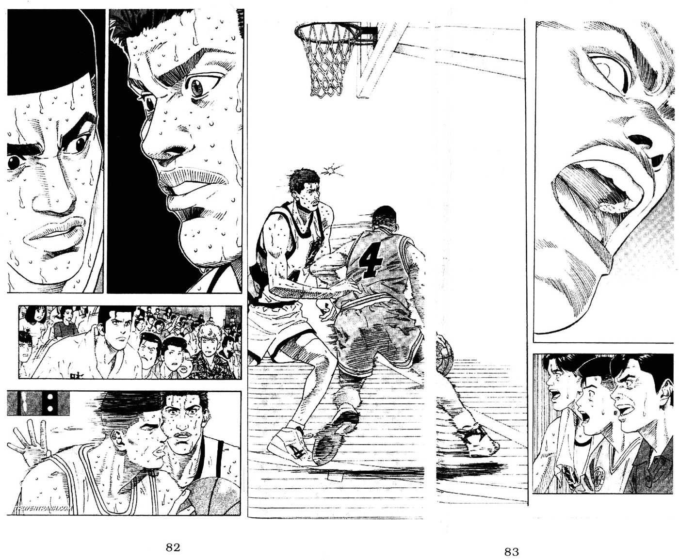 Slam Dunk chap 184 trang 11
