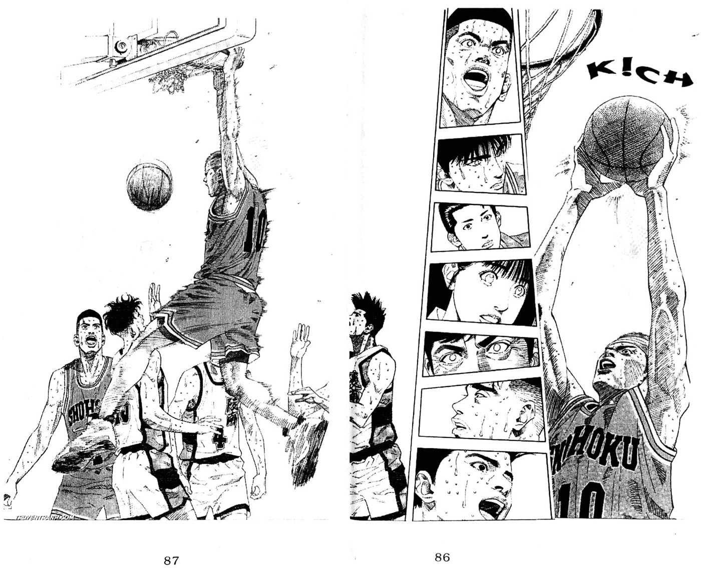 Slam Dunk chap 184 trang 14