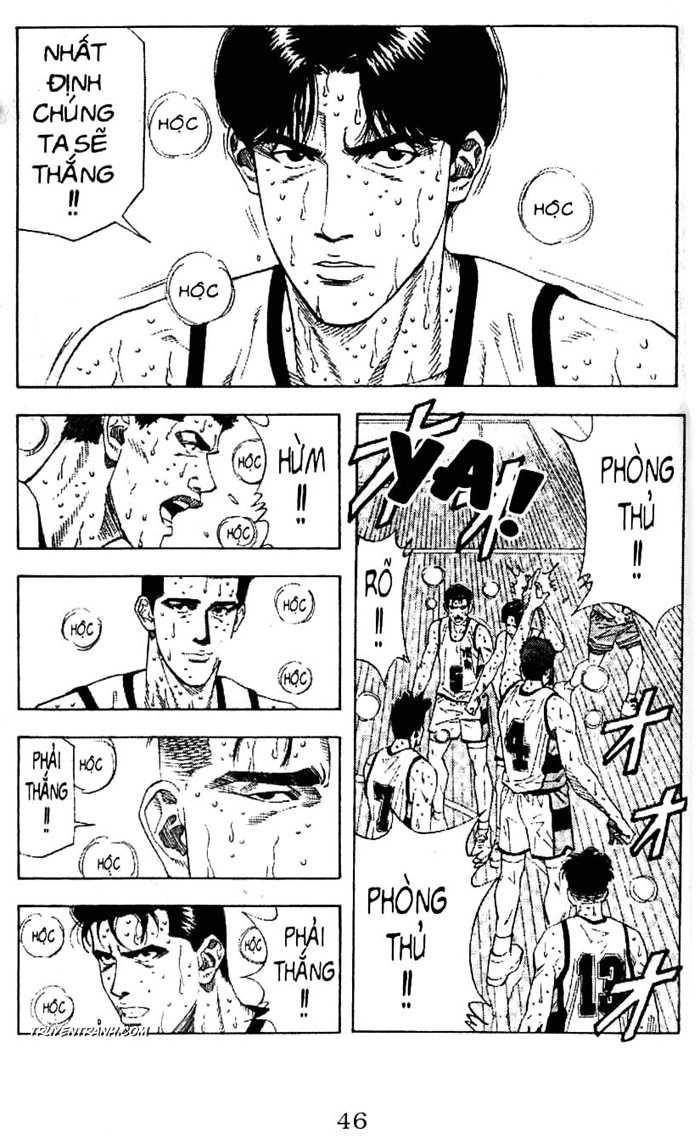 Slam Dunk chap 182 trang 14