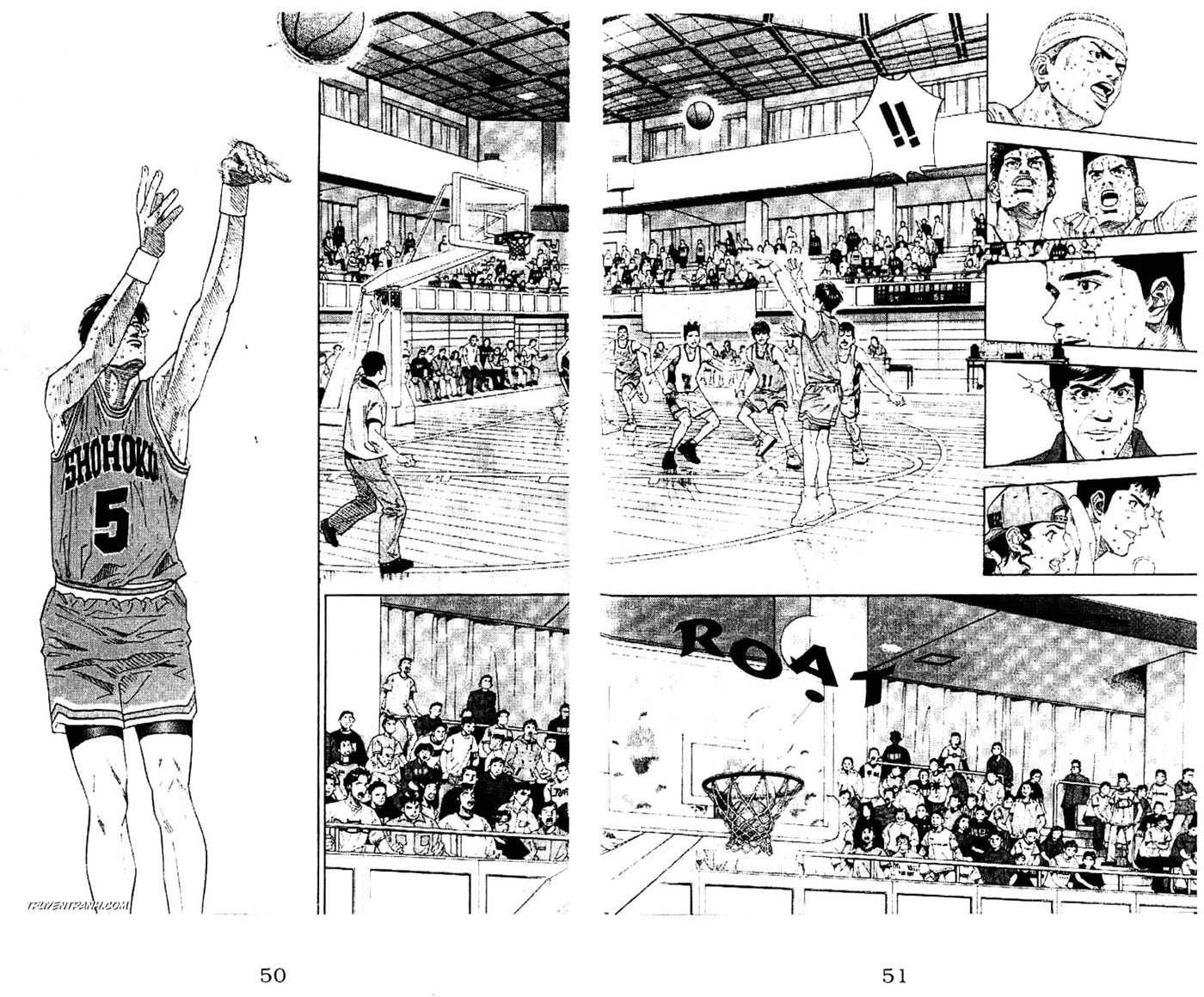 Slam Dunk chap 182 trang 18