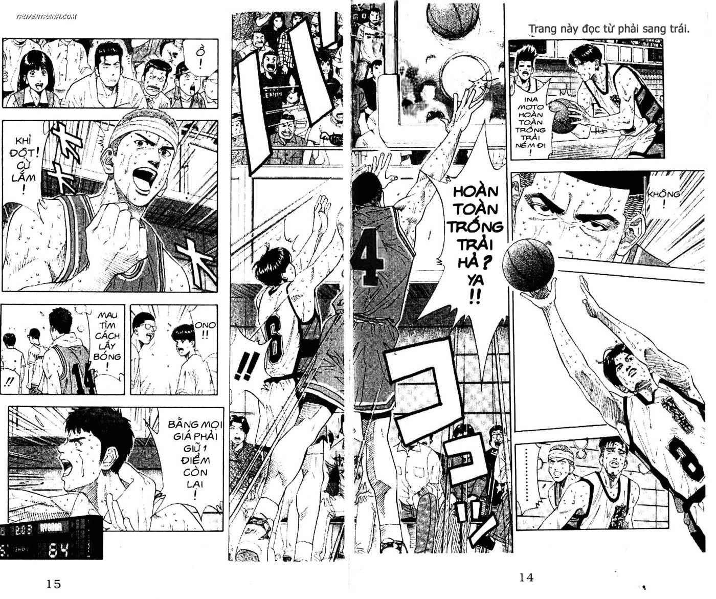 Slam Dunk chap 181 trang 3