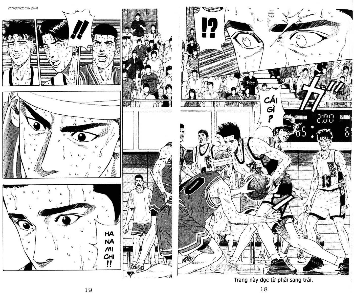 Slam Dunk chap 181 trang 6