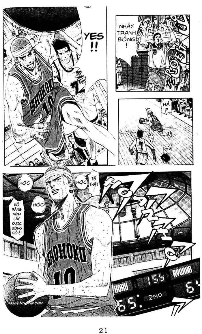 Slam Dunk chap 181 trang 8