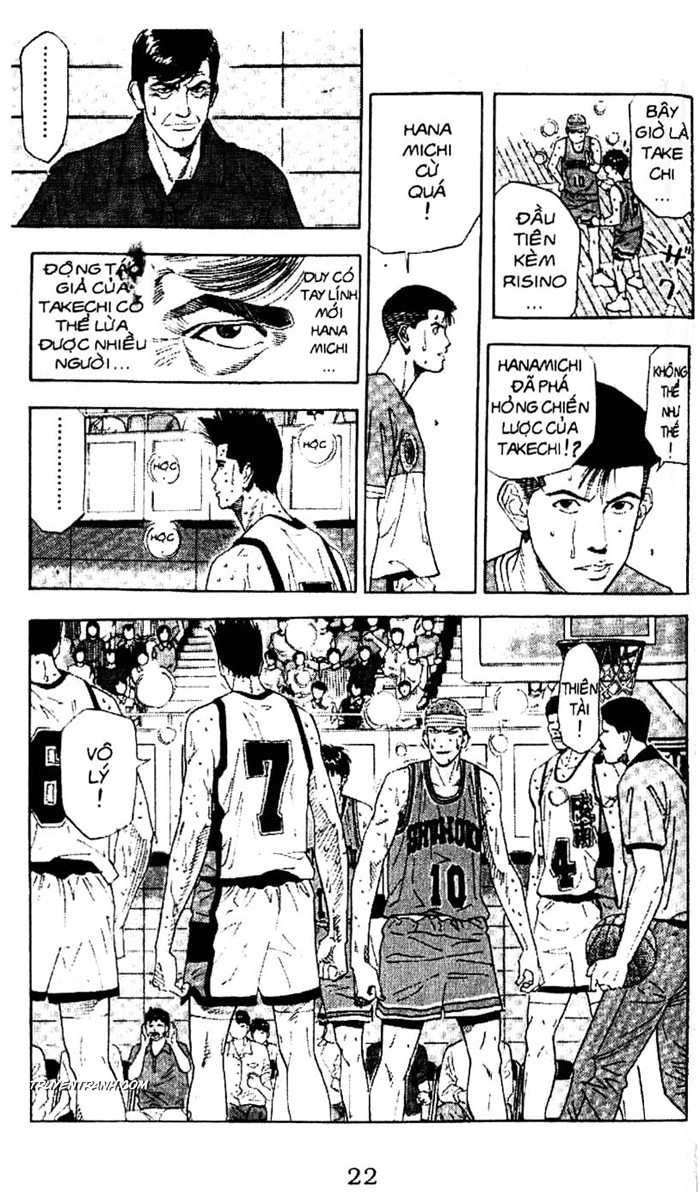 Slam Dunk chap 181 trang 9