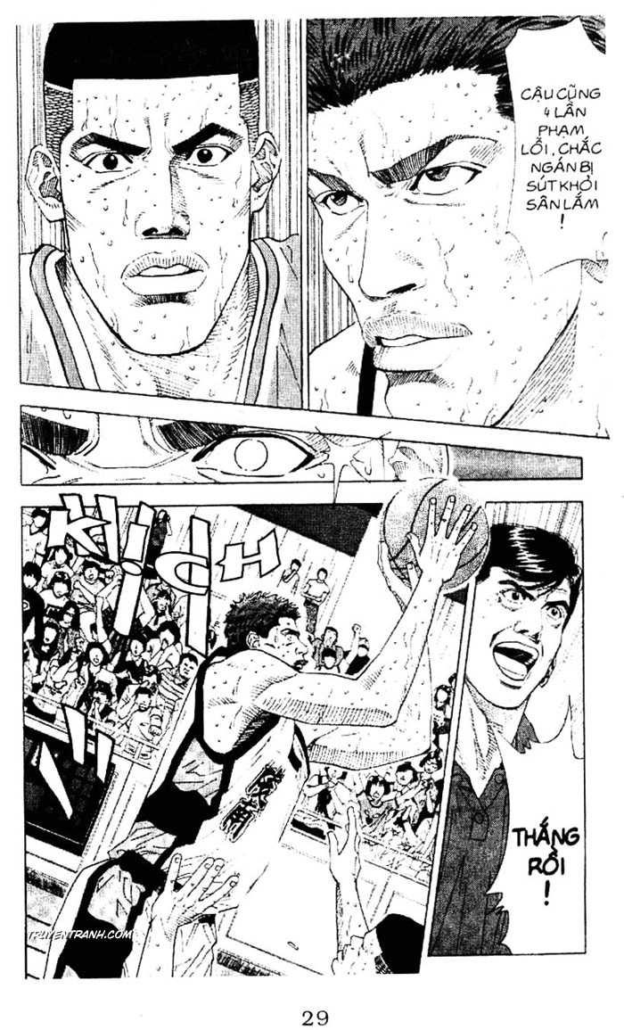 Slam Dunk chap 181 trang 16