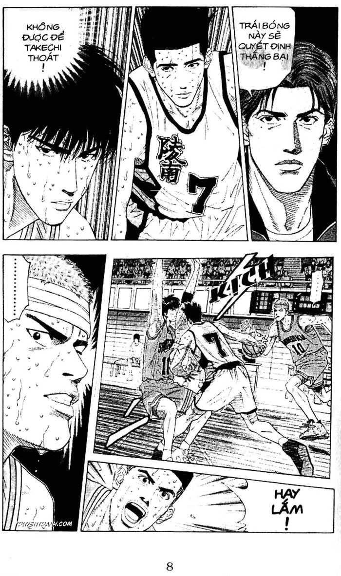 Slam Dunk chap 180 trang 17