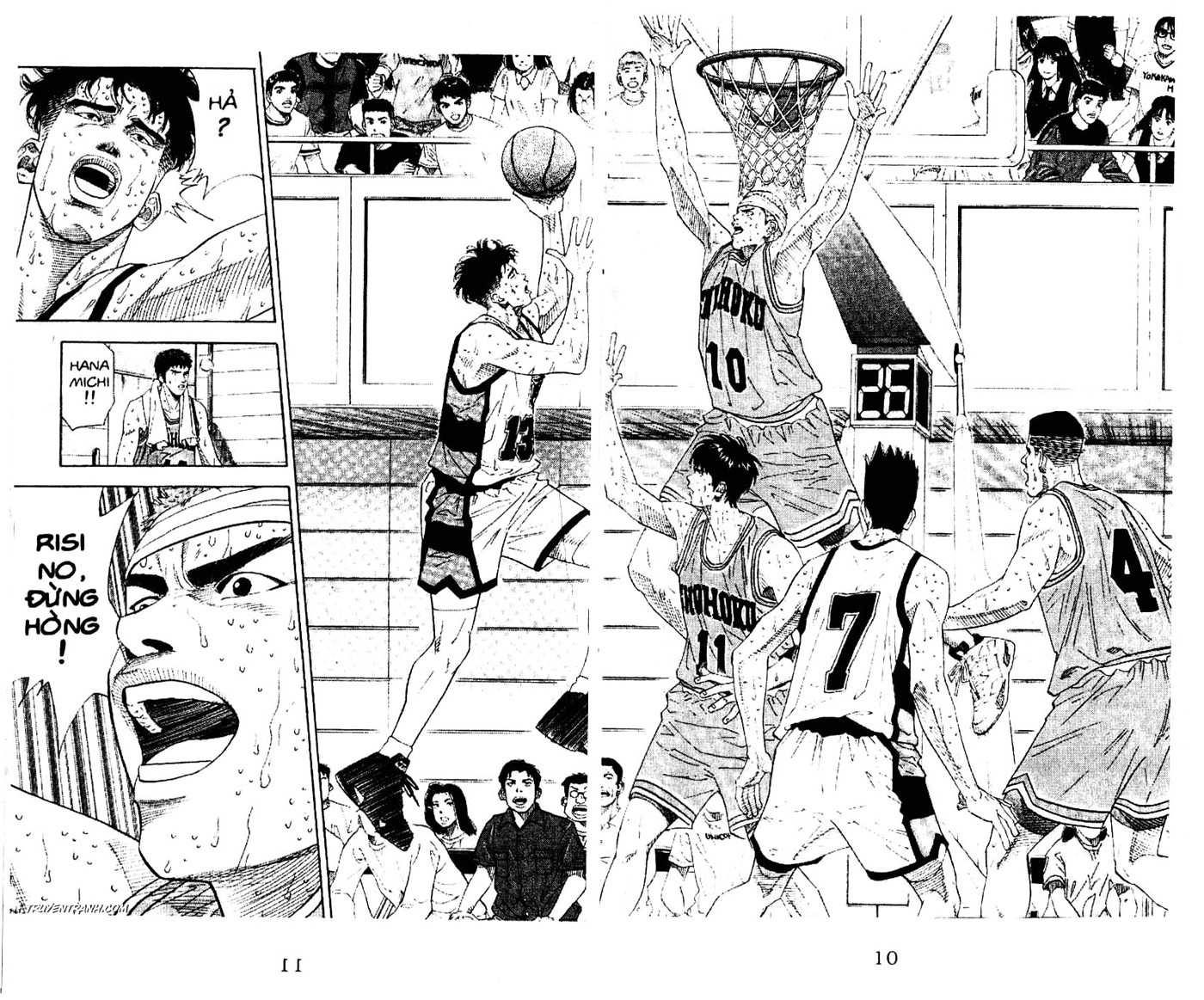Slam Dunk chap 180 trang 19