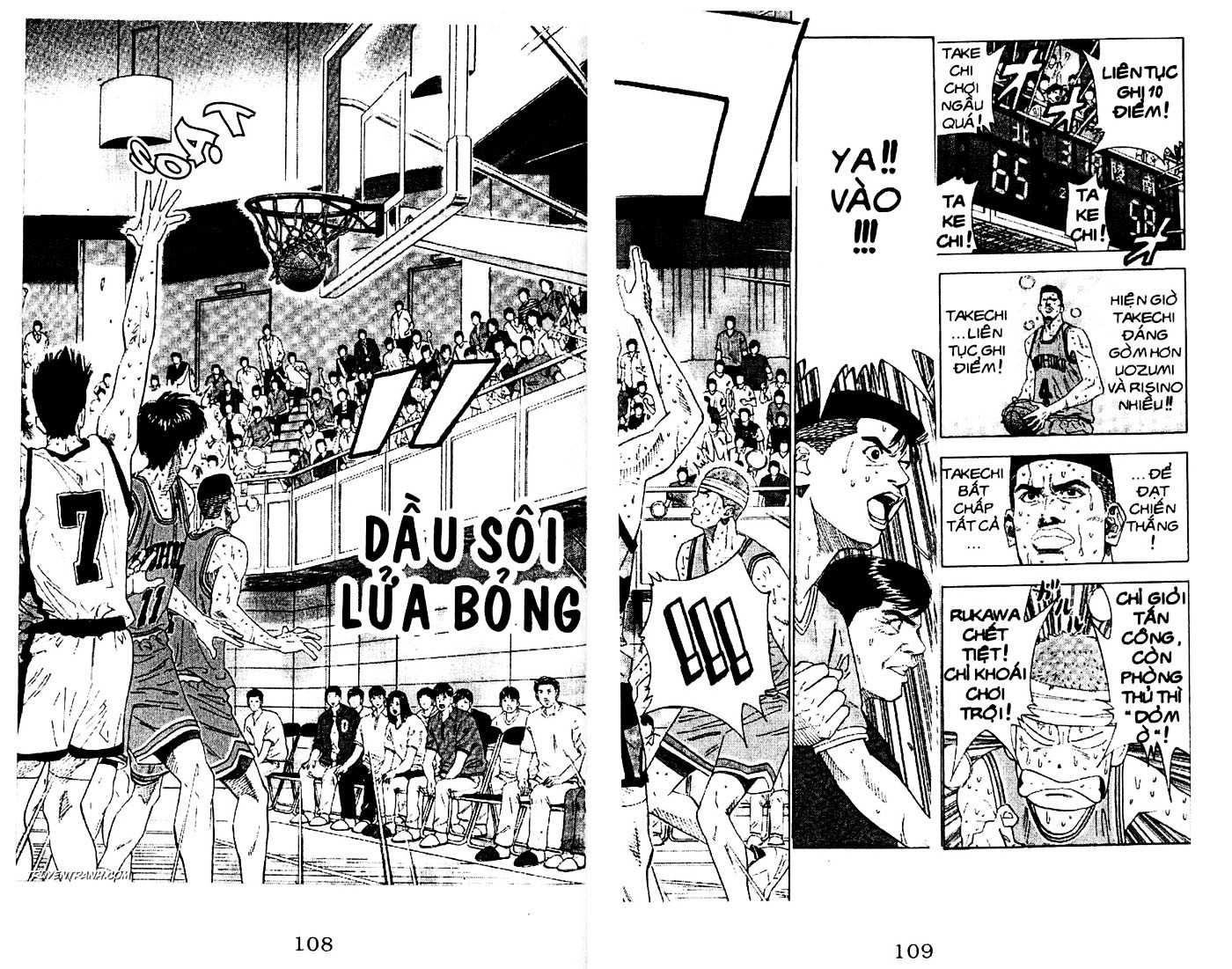 Slam Dunk chap 178 trang 3