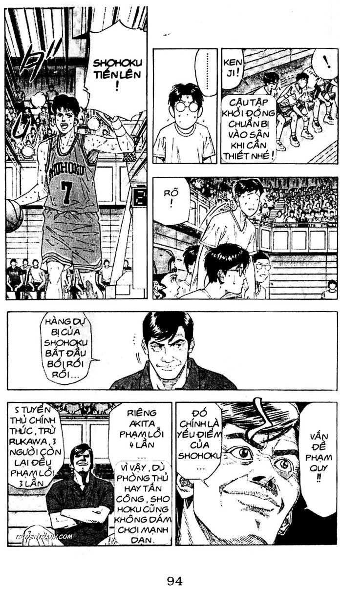 Slam Dunk chap 177 trang 9
