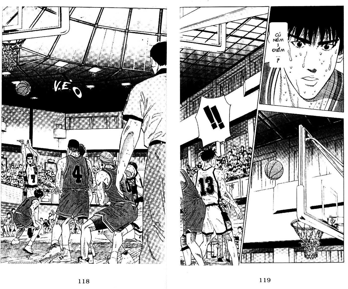 Slam Dunk chap 178 trang 12