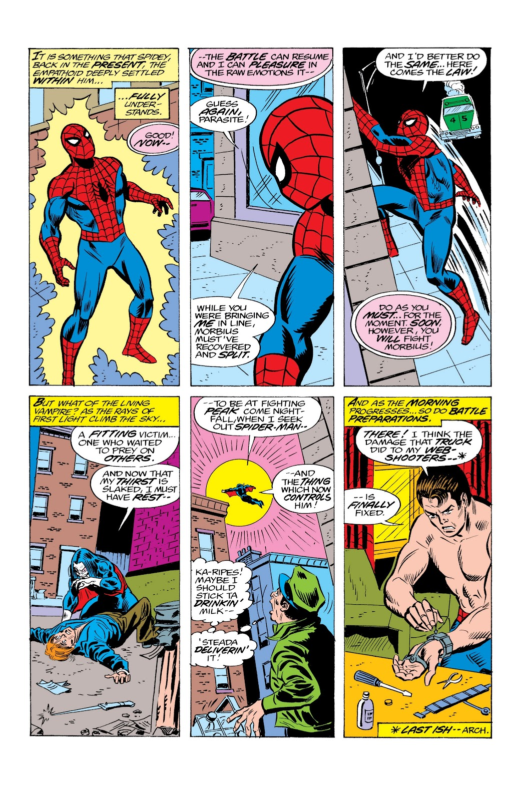 Read online Marvel Masterworks: The Spectacular Spider-Man comic -  Issue # TPB (Part 2) - 29