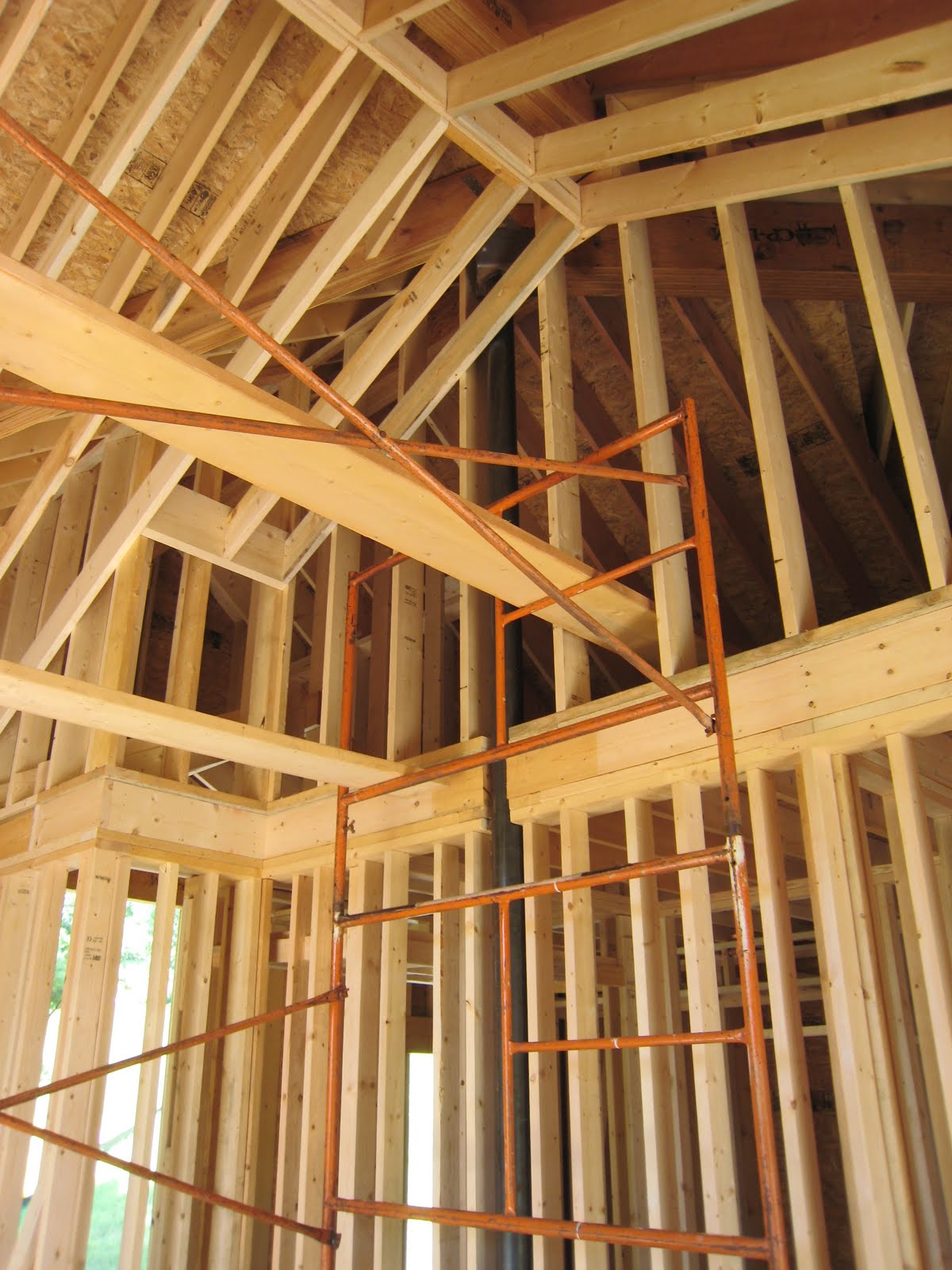 Mascoma Lake House Porch Beam Straps Framing And Color