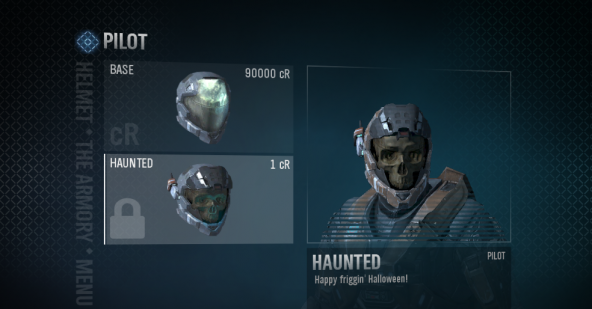 Halo Reach Truths: How to get Pilot/Haunted helmet