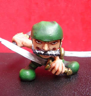 orme magiche action figure one piece zoro manga da colorare