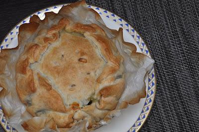 Torta pasqualina con pasta sfoglia