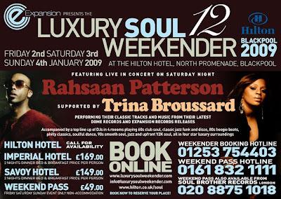 ec1ae3dd74b1 In Dangerous Rhythm  Luxury Soul Weekender Blackpool 2-4 January 2009
