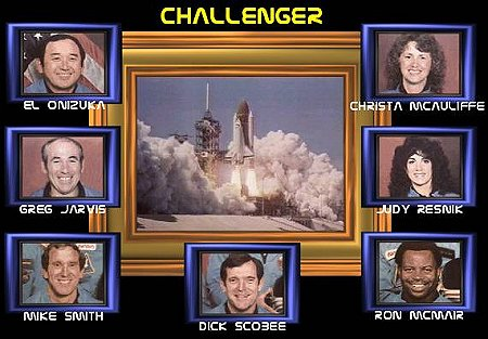 Gary L. Thomas: Remembering Challenger - 25 years ago
