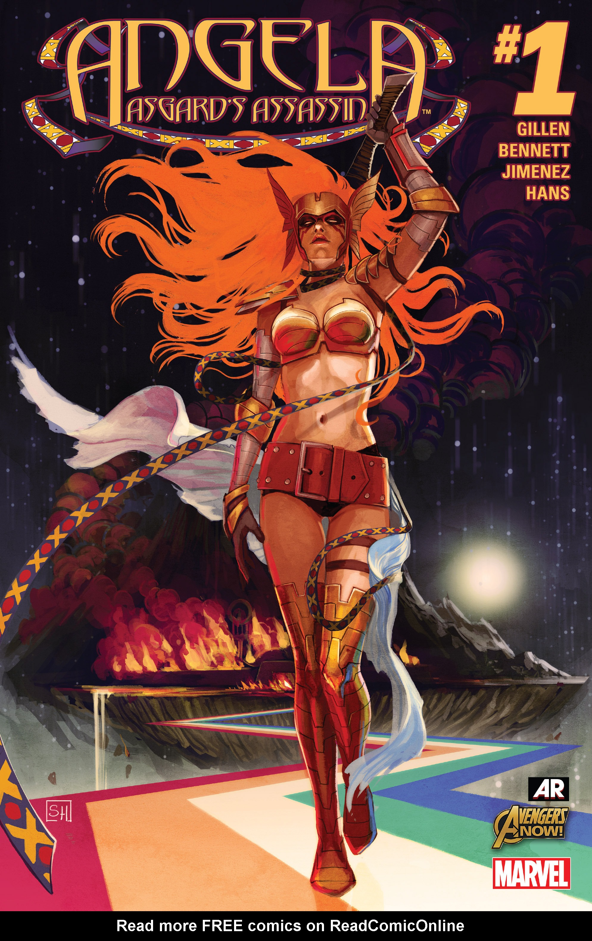 Read online Angela: Asgard's Assassin comic -  Issue #1 - 1