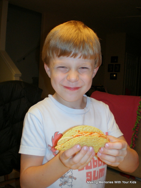 Spaghetti Tacos Making Memories With Your Kids