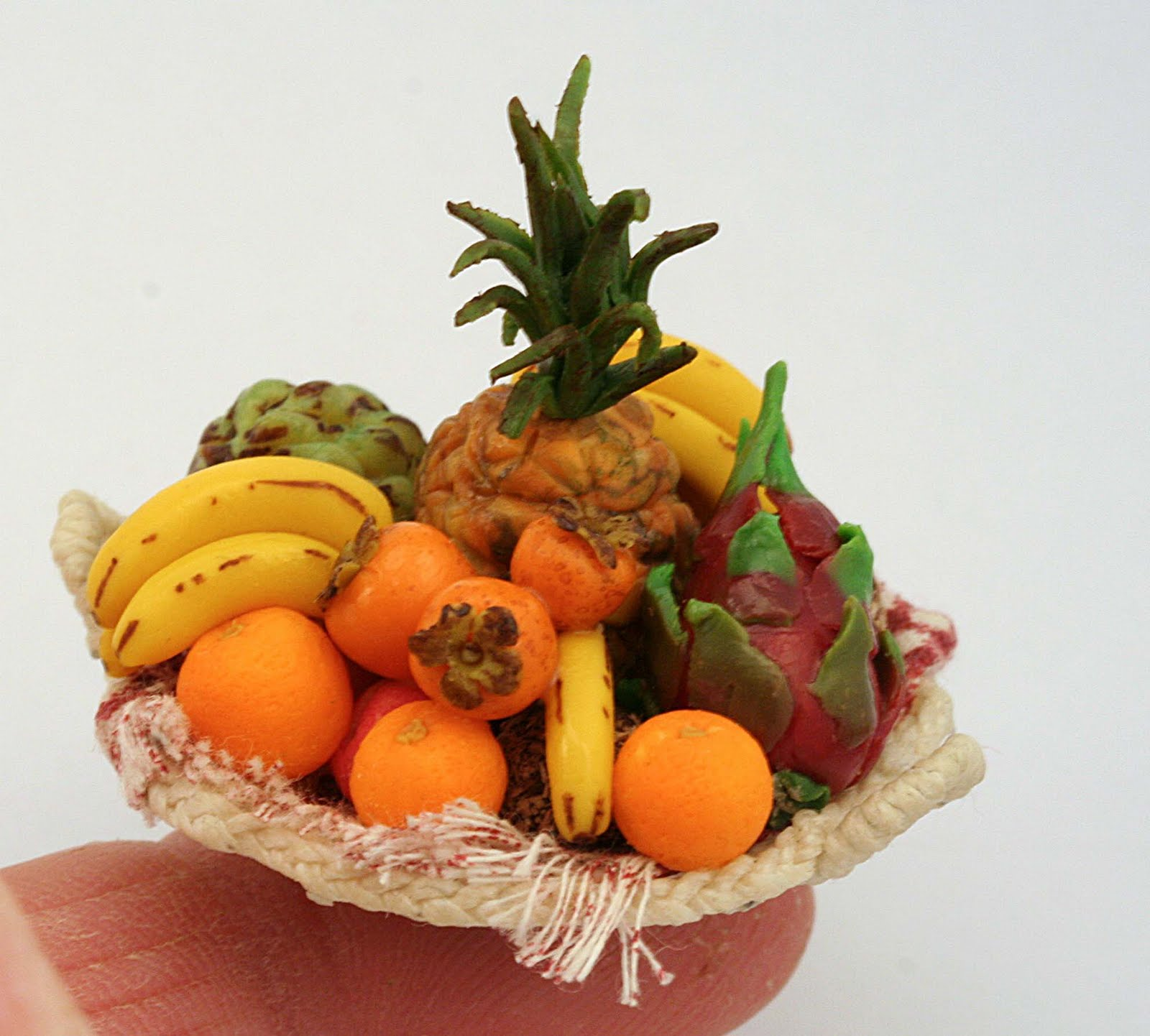 Fruit Baskets Linsminiartform A Tropical Fruit Basket
