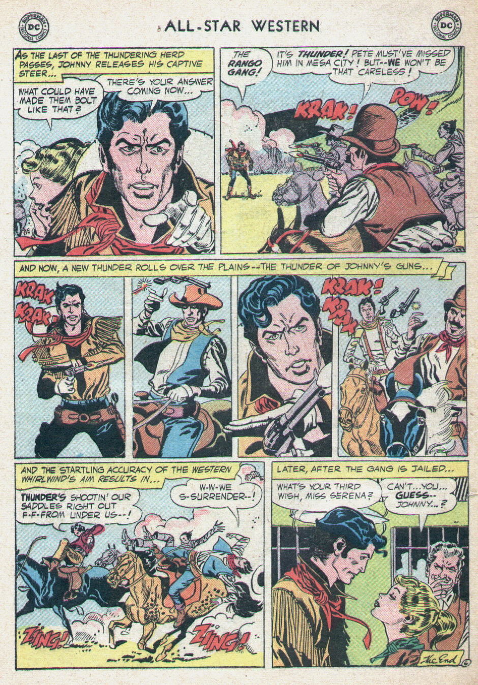 Read online All-Star Western (1951) comic -  Issue #90 - 32