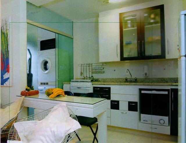 Plano de vivienda con un solo dormitorio planos de casas for Planos de cocina y lavanderia