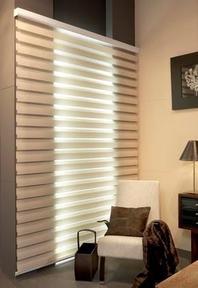 CORTINAS ENROLLABLES NOCHE Y DIA  FOTOS DE CORTINAS Decoracin con cortinas fotos y videos