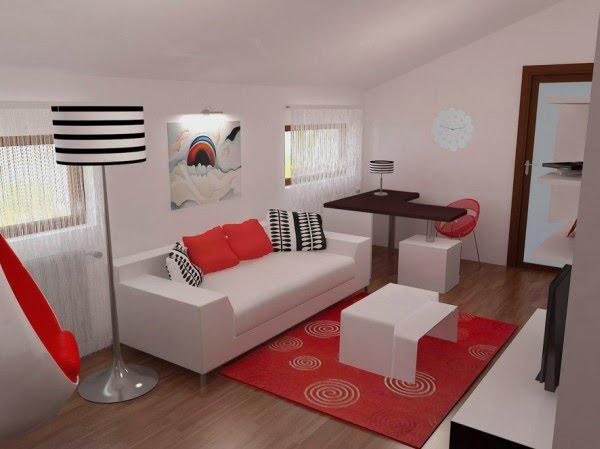El dise o de dormitorio 3d es de una empresa en rumania for Dormitorio sala