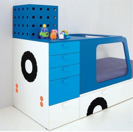Dormitorios infantiles minimalistas recamaras minimalistas - Habitaciones infantiles ninos 2 anos ...