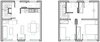 planos de casas 6x5