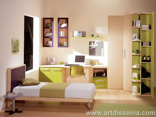 M ralo completo abajo for Dormitorios funcionales