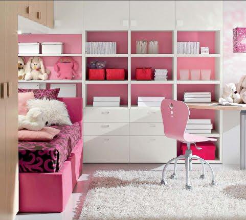 Dormitorio fucsia rosado para ni as y jovencitas for Dormitorios para ninas quito