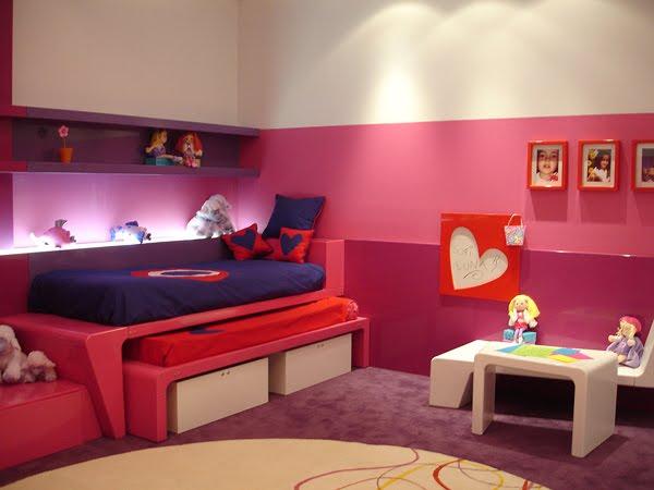 Dormitorio para chicas recamara para jovencitas habitacion para adolescentes via www - Juegos para chicas de decoracion ...