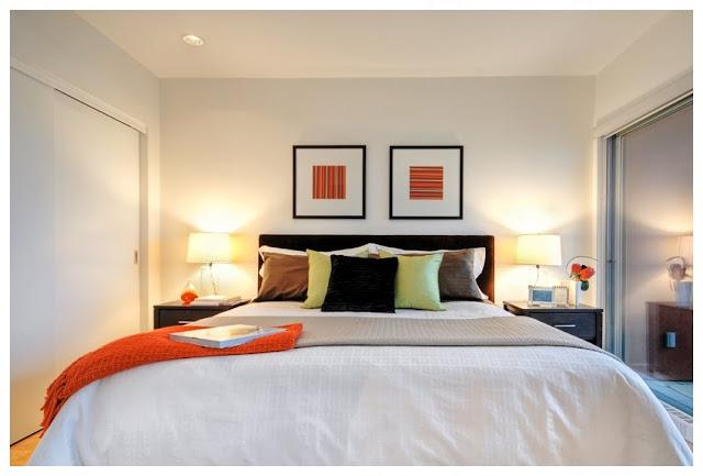 Pequeno Dormitorio Principal En Blanco Master Bedroom Dormitorios - Como-decorar-el-dormitorio-principal