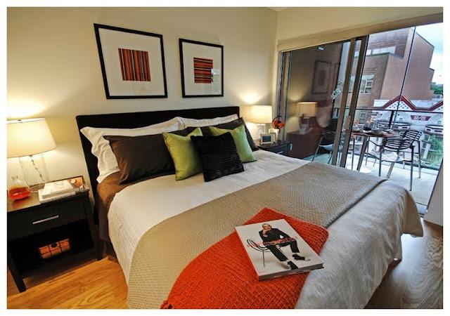 Dormitorio matrimonial peque o dormitorio principal - Como decorar el dormitorio principal ...